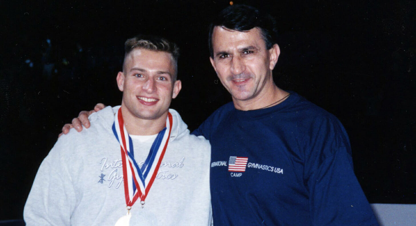 Brent with IGC coach Constantin