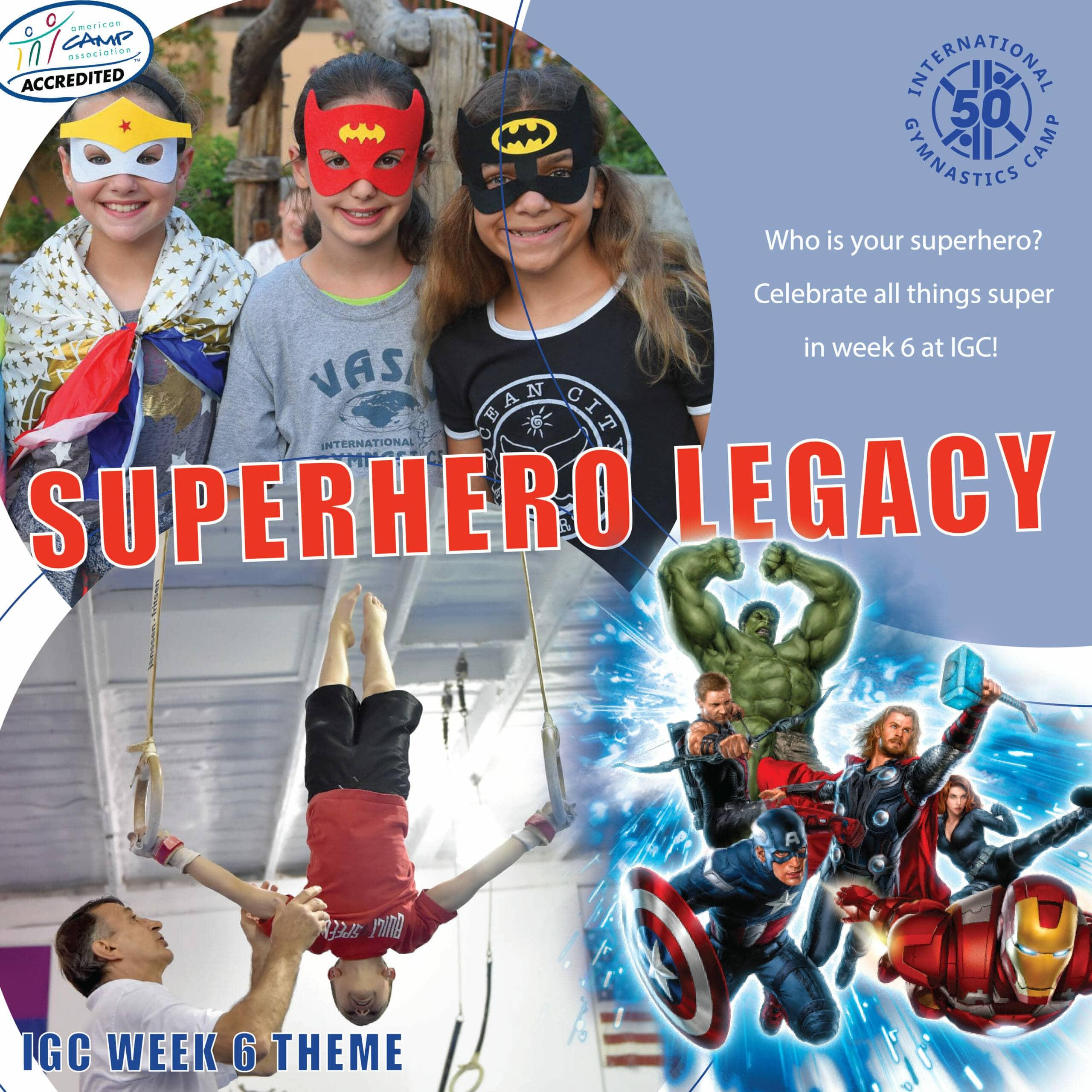superhero legacy